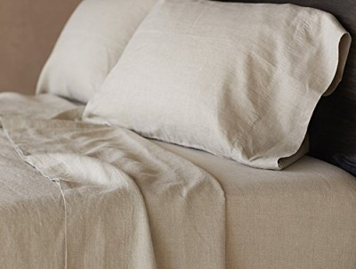 best organic bedding - coyuchi linen sheets
