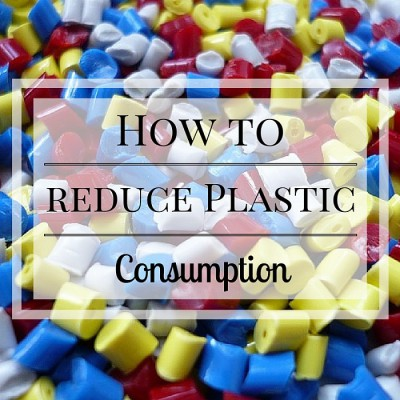 Reduce plastic consumption