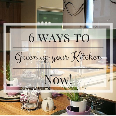 tips to make your kitchen more green