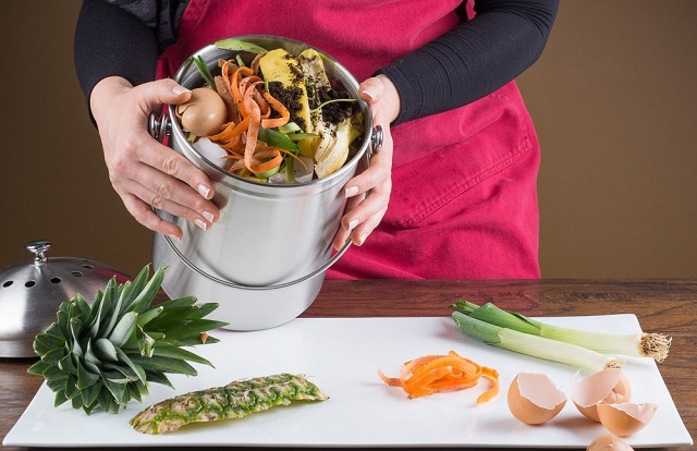 Benefits of composting food waste