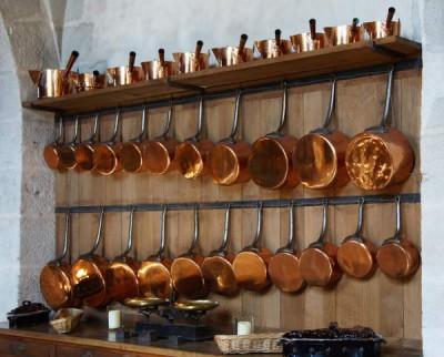 safest cookware material - copper