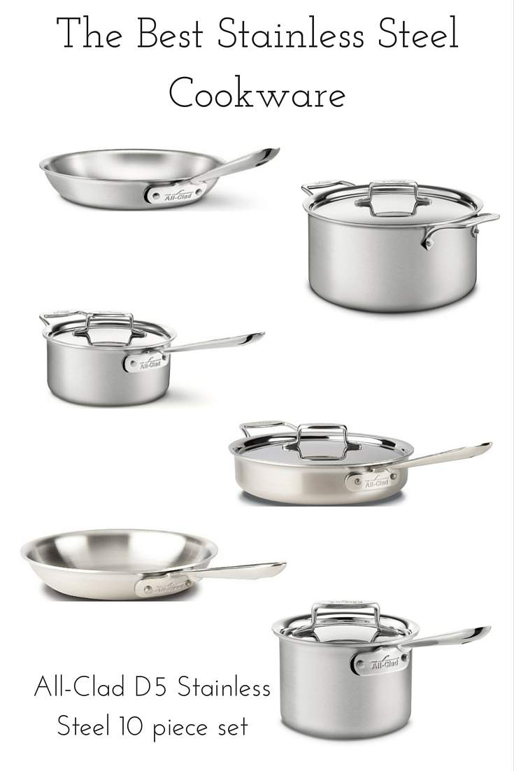 the best rated stainless steel cookware set