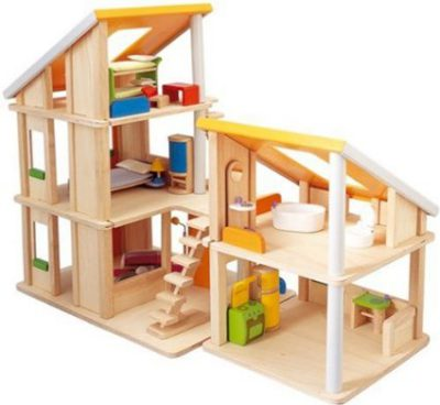 best wooden toys for children - plan toys dollhouse