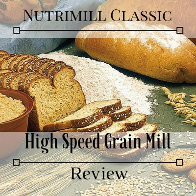 Nutrimill Class: High speed Grain Mill Review