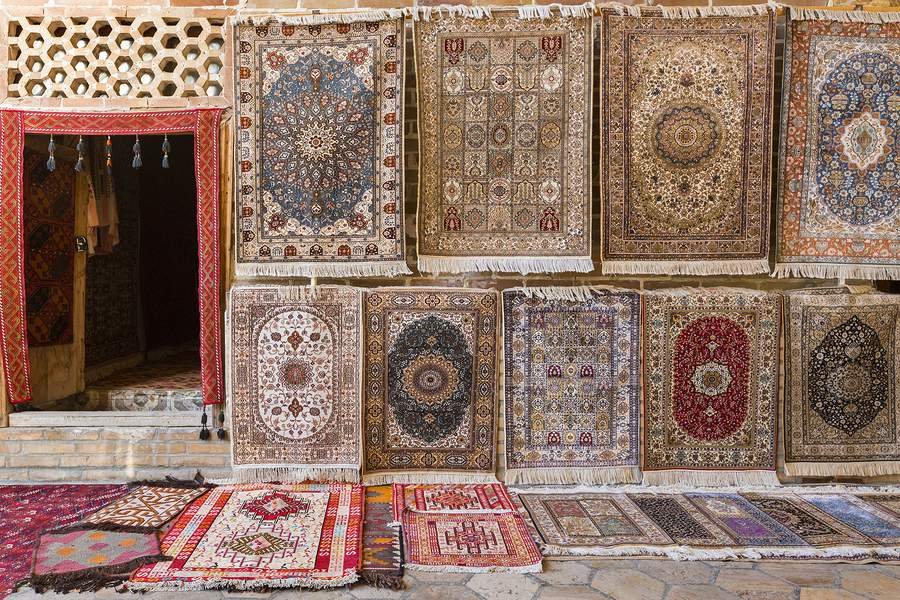 persian rug patterns