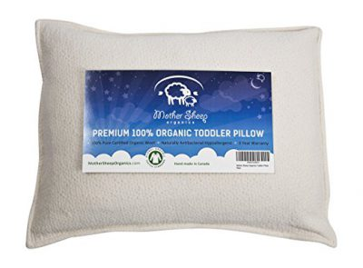 mother sheep toddler organic wool pillow