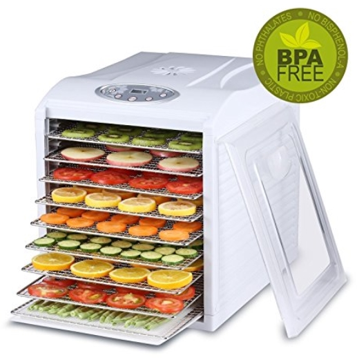 best stainless steel food dehydrator - biochef
