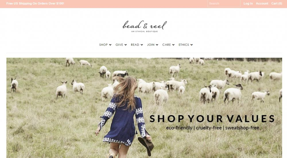 best online shops for fair trade jewelry - bead and reel