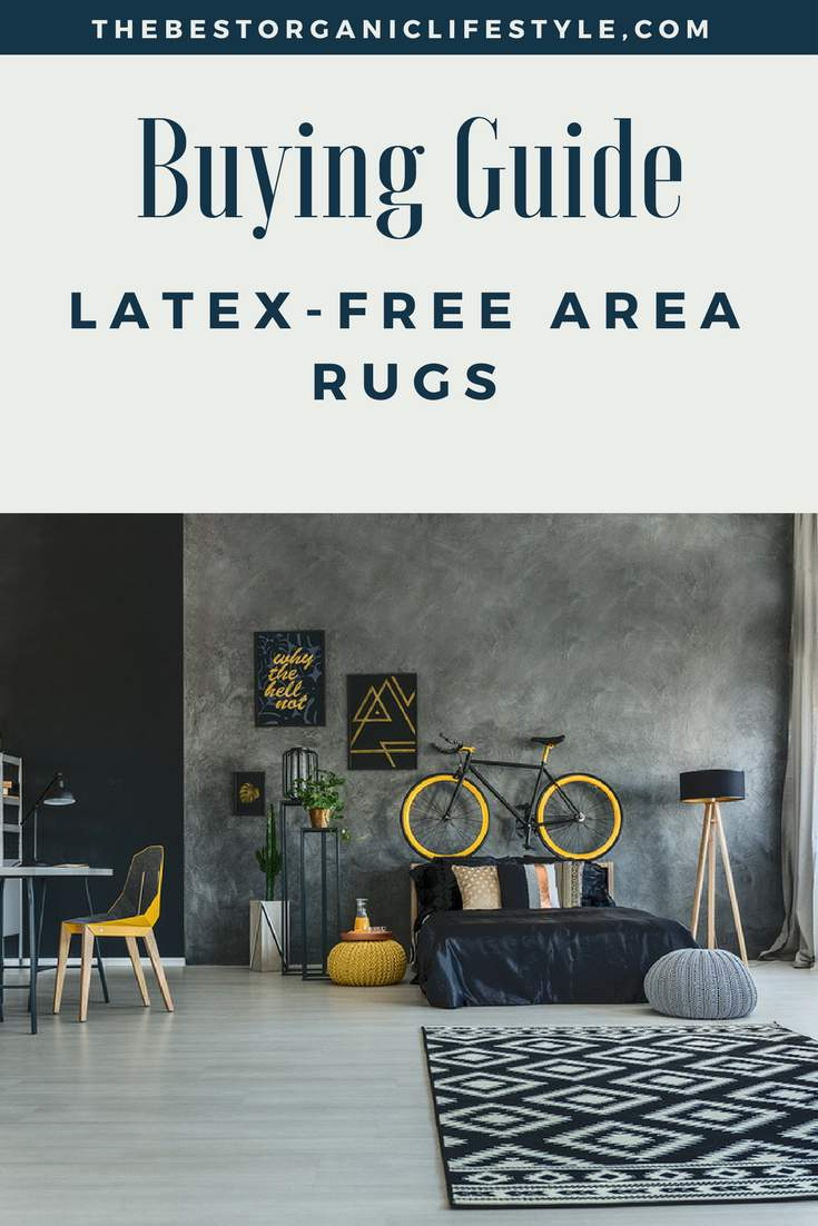 the best latex free area rugs
