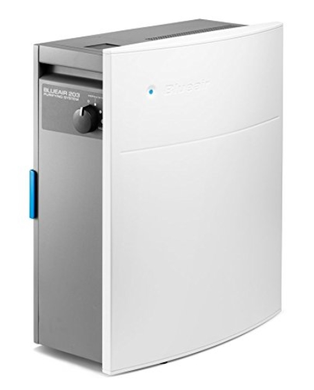best air purifier for allergies and asthma -Blueair Classic 203 Slim HEPASilent Air Purification System