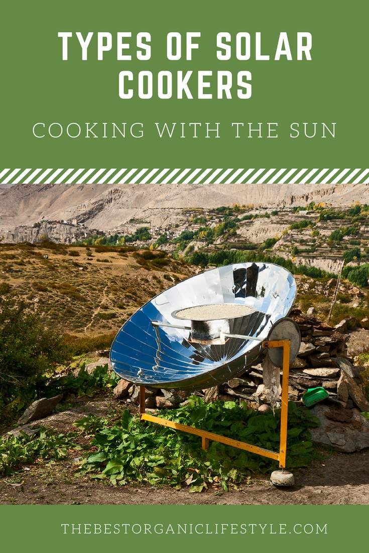 different types of solar cookers