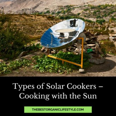 types of solar cookers
