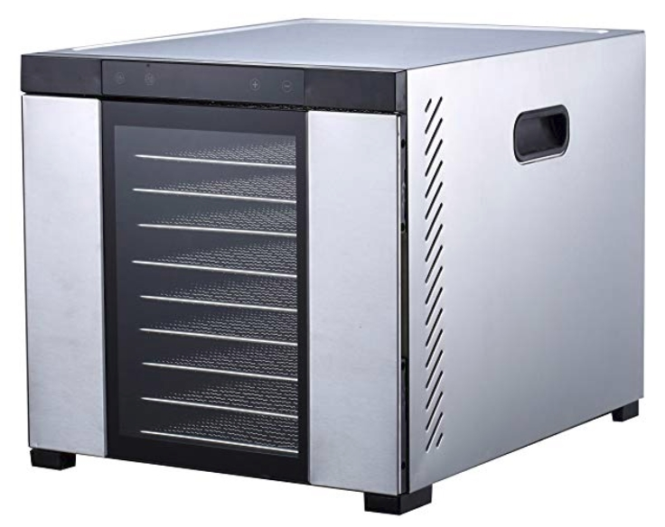 Samson _Silent_ 10 Tray ALL Stainless Steel Dehydrator