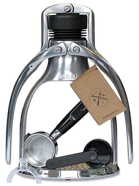 ROK EspressoGC Manual Piston Espresso Machine