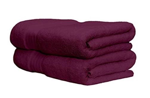 Whisper Organics 100% Organic Premium Turkish Cotton Bath Towels
