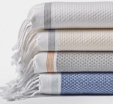coyuchi organic cotton mediterranean towels