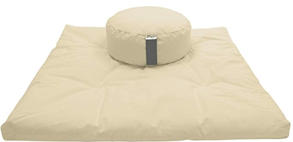 Bean Products Zafu and Zabuton Meditation Cushion Set