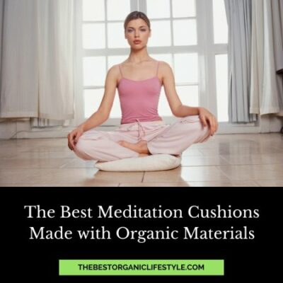 best meditation cushions made with organic materials