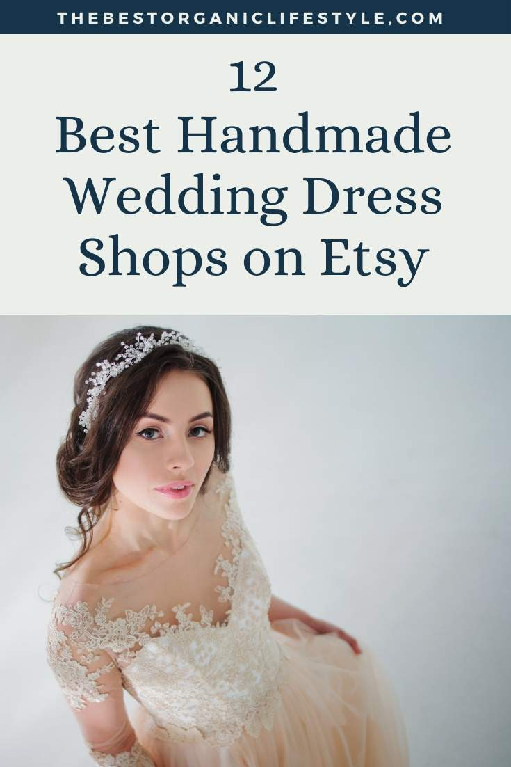 best handmade wedding dress shops on Etsy
