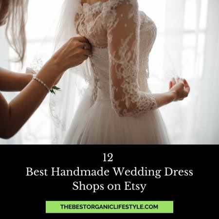 best handmade wedding dresses on Etsy