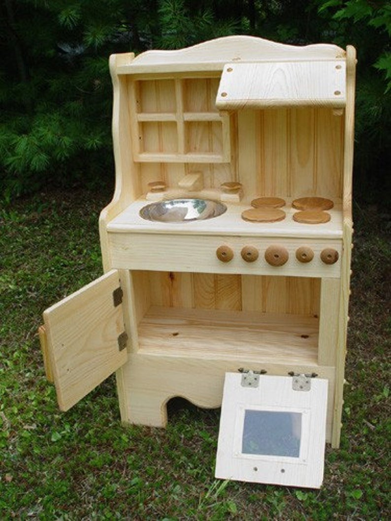 Best wooden play kitchen willow toys