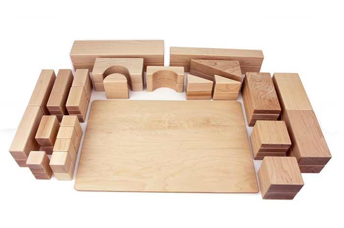 Best wooden toys for children best blocks Everwood