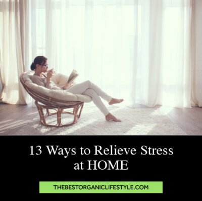 Ways to relieve stress at home